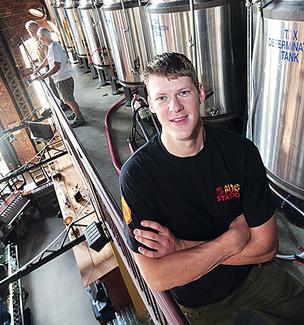 Ryan Demler, brewer, CH Evans Brewing Co. at The Albany Pump Station