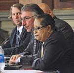 Shirley Ann Jackson, Michael Castellana make final pitch for $40M from state