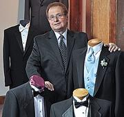 Cosimo Futia, owner of Futia's Tuxedos/Bridal & Prom Gowns.