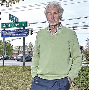 Michael Hoffman, of Turf Hotels, purchased land near Colonie Center mall as his company prepares to build a fifth hotel. The Wolf Road corridor already is home to a dozen hotels with nearly 2,000 rooms.