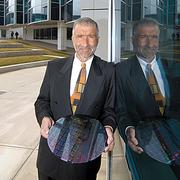 Alain Kaloyeros, head of the College of Nanoscale Science and Engineering, hinted at the potential for 450-millimeter wafer research back in 2008.