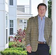 Toby Milde, managing director and partner of Capital District Properties, at The Paddocks of Saratoga.
