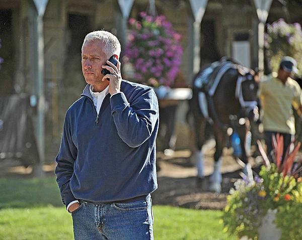 """""""If I have a bad stretch, I'll get some disgruntled clients who will move their horses elsewhere,""""  says Pletcher."""
