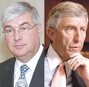 April 2009:Timothy McGinn and David Smith, founders of Albany investment firm McGinn Smith, are accused of securities fraud; Securities and Exchange Commission freezes their assets amid investigation involving the misuse of up to $120 million in investor funds. The pair would be indicted by a federal grand jury on tax and fraud charges in January 2012.