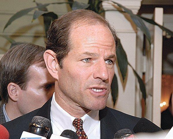 Former New York Attorney General Eliot Spitzer