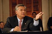 Senate Majority Dean Skelos, a Republican, saw his favorability rise from 14 percent to 16 percent (and his unfavorables drop from 20 percent to 18 percent) but 67 percent said they had no opinion in the Siena poll.