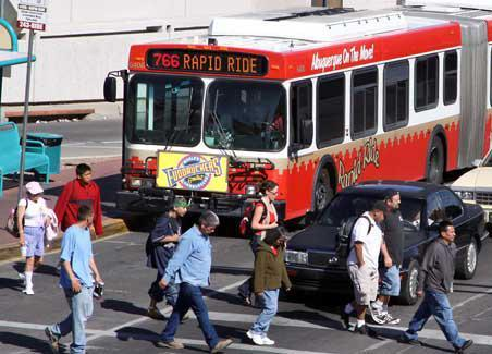 ABQ RIDE is experiencing a record number of passengers accessing its transit services.