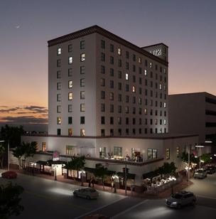 "El Paso's growing economy and real estate development will be highlighted at the Urban Land Institute's Oct. 4 program ""Development Trifecta: Land Use, Transportation and Density in the Rio Grande Corridor."" The event is scheduled for 11:30 a.m. at Hotel Andaluz (pictured) in Albuquerque."