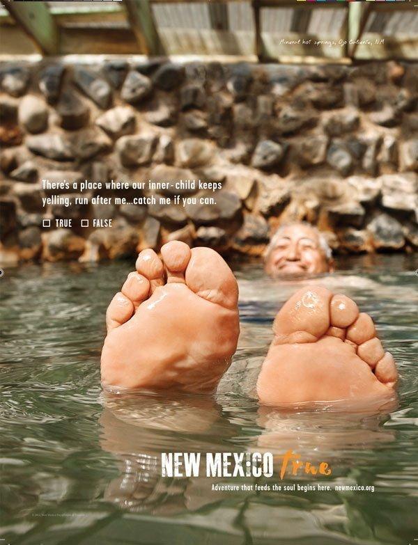 New Mexico True ad - Ojo Caliente