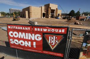 BJ's Restaurant and Brewhouse is among the new additions coming to Uptown.