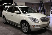 Buick Enclave: Able to handle the commute for up to eight people, the Enclave combines a quiet ride with competent handling and room in all three rows.