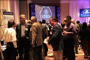 Movers and shakers from the tech community networked prior to and after the awards luncheon.
