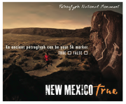 New Mexico True ad - Petroglyph National Monument