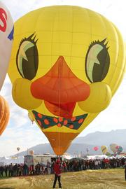 From the October 8 online story and photo gallery: Balloon Fiesta lifts off [PHOTOS]