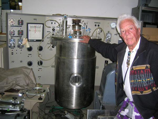The Black Hole, a military surplus store, is closing after almost 60 years. It was a rare place where you could buy a pile of circuit boards for $4, a filing cabinet made with 10-gauge steel, a Betamax player and a discarded missile body.Pictured here, is Ed Grothus, who opened the store, with a cornucopia of technology from the Black Hole.