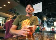 From the Aug. 31 print story:Rio Rancho must boost its tax base to fund city's growth Turtle Mountain GM Adam Galarneau enjoys a well-deserved beer after work.