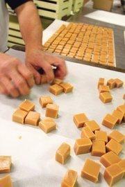 The fine art of caramel squares