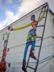 Jaque Fragua mural
