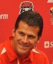 Steve Alford, UNM head men's basketball coach