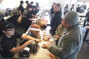 Chipotle's menu features salads, gourmet tacos and gigantic burritos with make-it-your-own options.