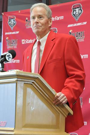 Bob Davie, UNM head football coach