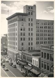 First National Bank building, Central Ave., 1945