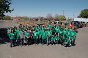 Comcast marked its 12th annual Comcast Cares Day by deploying more than 4,000 volunteers working at 15 project sites across New Mexico. Volunteers engaged in a variety of activities, including planting gardens, beautifying schools and repairing community centers, among other things. This year, the event has expanded internationally, and now deploys about 70,000 Comcast employees throughout America, England, France, Germany, New Zealand, Australia and India.