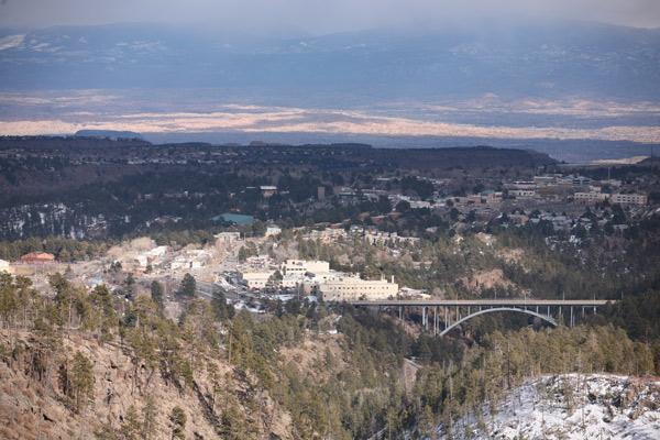 Los Alamos, ranked the wealthiest county in the nation by the U.S. Census Bureau, was also ranked the healthiest county in the nation.