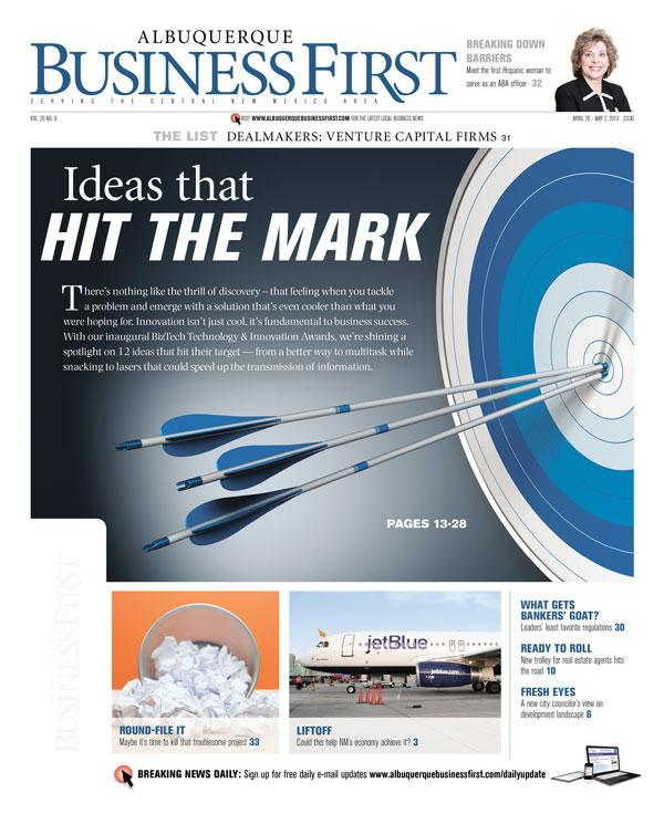 Learn about New Mexico's top innovators and disruptors in this week's print edition of Albuquerque Business First.