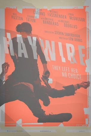 Haywire is currently in theaters. Stars: Gina Carano, Ewan McGregor and Michael Fassbender