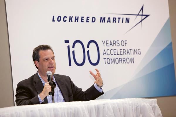 Jeffrey Wilcox, the vice president of engineering for Lockheed Martin, was among those stressing the importance of  STEM education during a meeting of the  National Engineering Forum.
