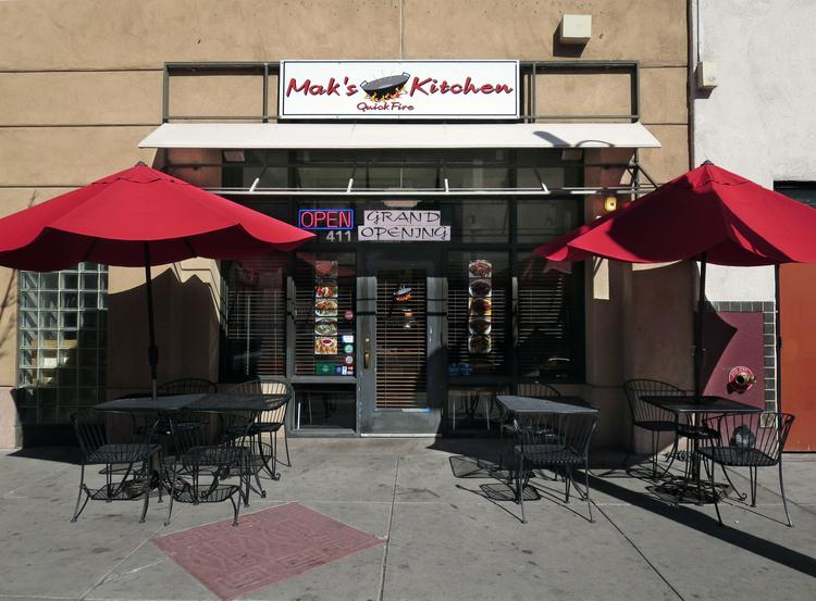 Mak's Quick Fire Kitchen opened Feb. 7 in the former Al's Big Dipper space at 411 Central Ave. NW.