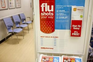 An early flu season has driven more people to the doctor.