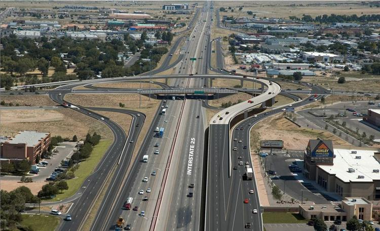 Lane restrictions will start taking effect about 7 p.m. today for the Paseo Del Norte/I-25 Interchange Reconstruction Project.