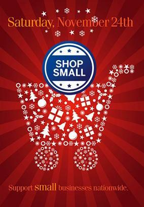 The event seeks to encourage consumers to buy goods and services from small businesses.