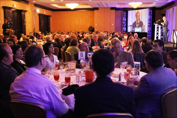 The 2012 Healthiest Employers awards luncheon hosted a sellout crowd Thursday at the Crowne Plaza.