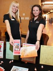JCC Albuquerque Fitness, Training and Wellness Director Susanna Pier, left, and Personal Trainer Jess Stainsby.
