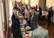 A number of health-focused businesses were on hand to educate event attendees.