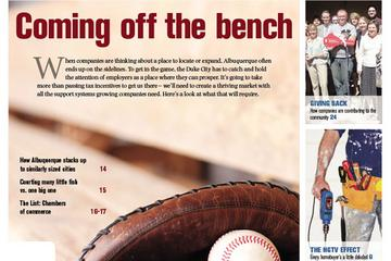 In this week's issue: Coming off the bench