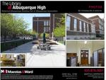<strong>Davis</strong> puts Library at ABQ High building up for sale