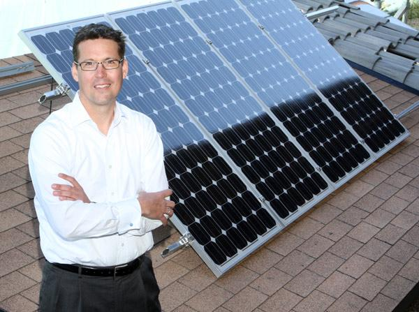Unirac Inc. announced Monday that it has provided a mounting system for a 400 kW solar installation on a new hospital in Haiti. Pictured is Unirac CEO Peter Lornez.