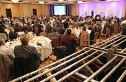 About 400 people from the business community attended the eighth annual Economic Outlook Conference.