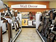 HomeGoods wall decor section
