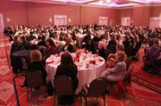 Attendees were treated to a catered lunch during the awards.