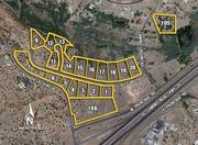 In Santa Fe, 19 lots in the Las Lagunitas subdivision are up for auction.