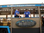 Mike Silva and Jesse Herron started their business in 2009. Due to the success of their normal tours and especially the BaD tour, they anticipate they will soon need to expand their operation. For more info see the ABQ Trolley Co.'s website http://www.abqtrolley.com/