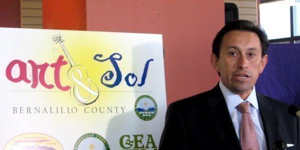 Director of Economic Development for Bernalillo County, Dan Gutierrez, outlines the Art & Sol program