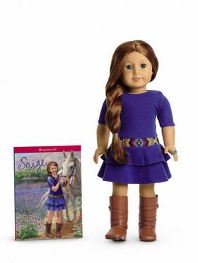 American Girl's 2013 Girl of the Year doll is named Saige Copeland, and she's from Albuquerque.