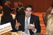 Billy Gupton was one of more than 300 businesspeople mingling and exchanging ideas at the event.