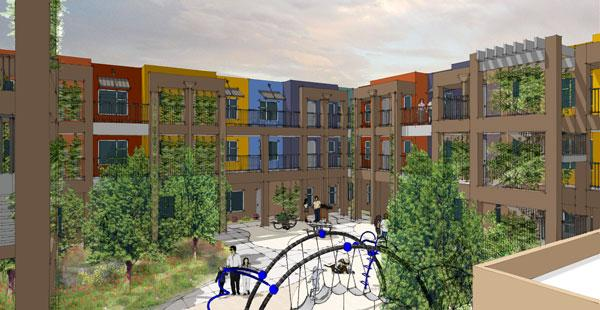 A $16.2 million multifamily housing development in Downtown Albuquerque is set to break ground March 7. The venture, Casitas de Colores, is a partnership between Romero Rose LLC and YES Housing Inc.